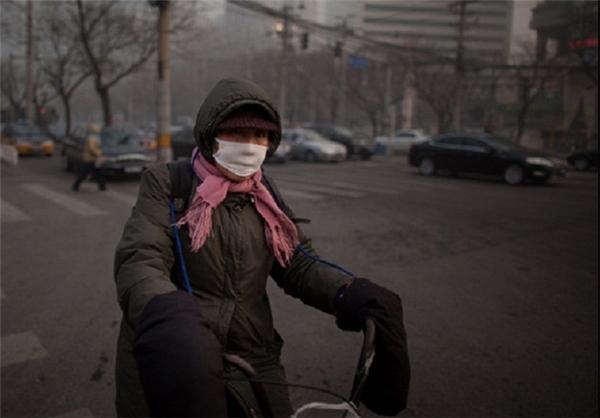 پکن چین مانند تهران شد + تصاویر