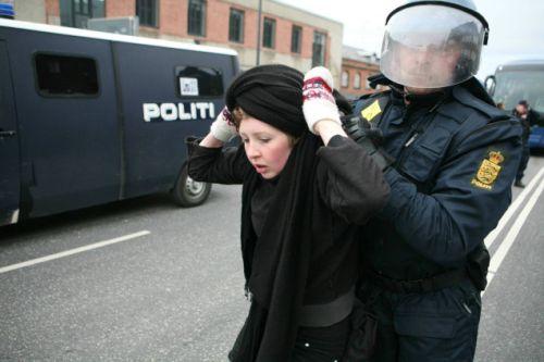 پلیس دانمارک رسما از یک کلیسا عذرخواهی
