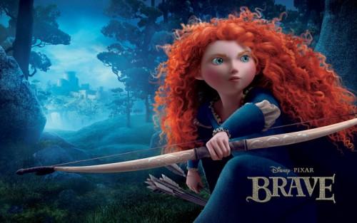 نقد و بررسی انیمیشن Brave یا شجاع