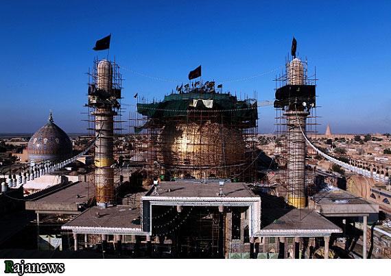 عکس های جدید از بازسازی حرم امام حسن عسکری(ع)