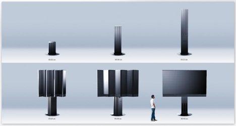 بزرگترین صفحه نمایش 210 اینچی دنیا رونمایی شد + عکس