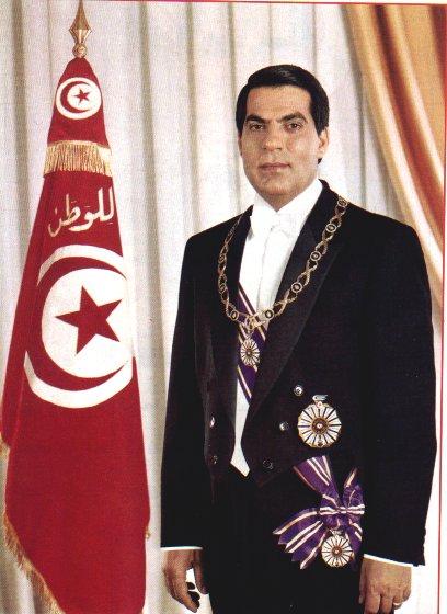 بن علی دیکتاتور تونس درگذشت ؟!