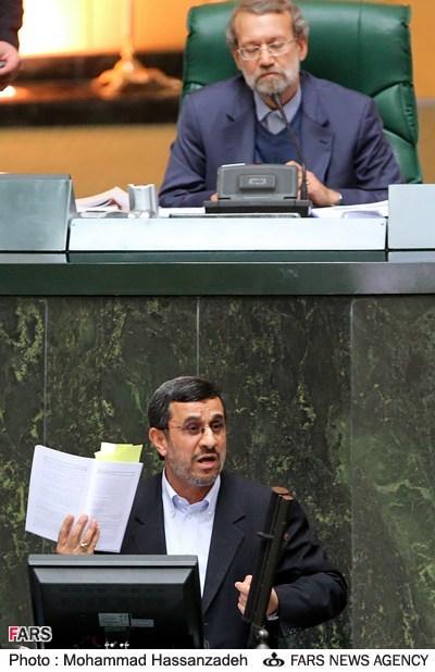 نشست خبری احمدی نژاد با رسانه های خاص
