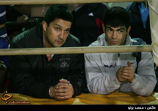حضور حامد بهداد در تمرین تیم ملی بوکس + تصاویر