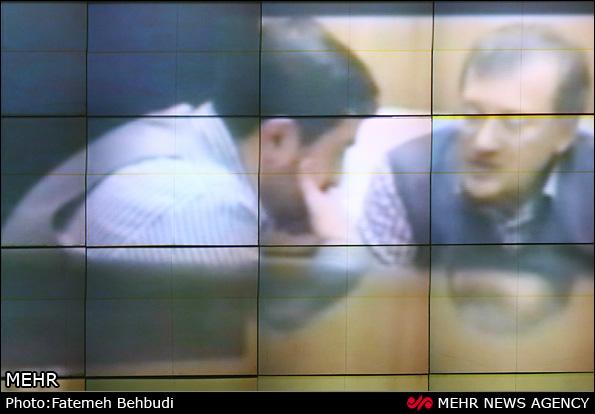 تصویری فیلمی که احمدی نژاد در مجلس پخش کرد