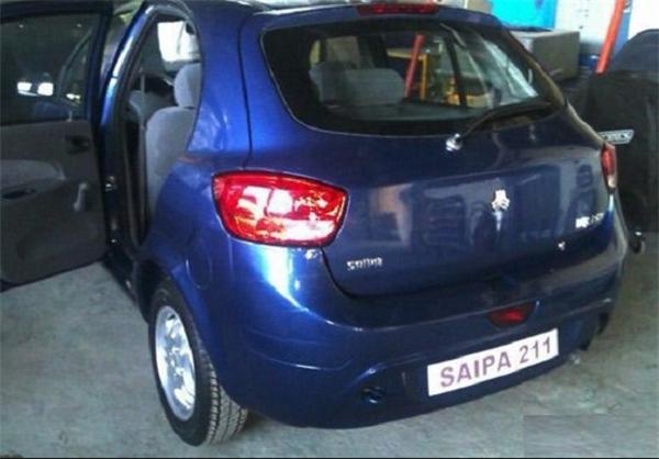 عکس های لو رفته از اتومبیل جدید سایپا
