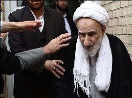 ماجرای ترک خانه ایت الله بهجت و جمله ای که ایشان را به گریه انداخت