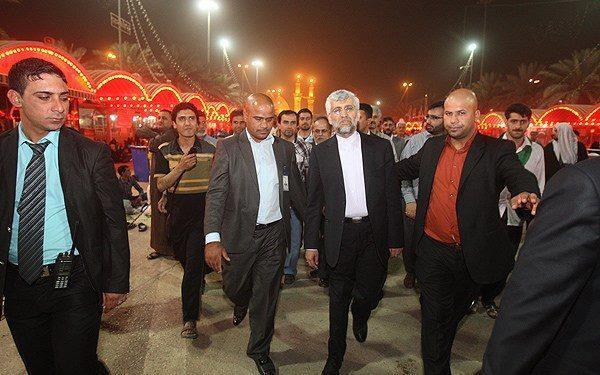 دکتر سعید جلیلی در بین الحرمین + عکس