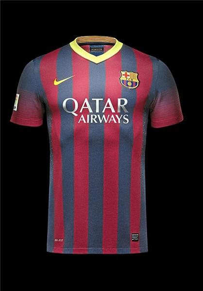 عکس های پیراهن جدید تیم بارسلونا