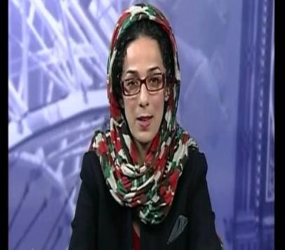 مجری بی حجاب بخش فارسی صدای امریکا که با حجاب شد + عکس