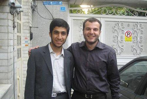 عکس یادگاری پسر احمدی نژاد و مشایی