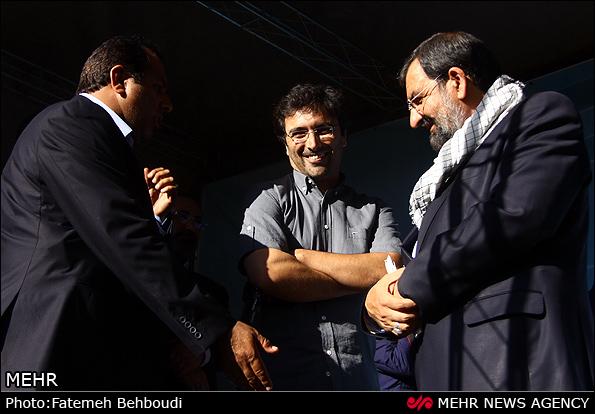 بازیگر مشهور در ستاد انتخاباتی محسن رضایی