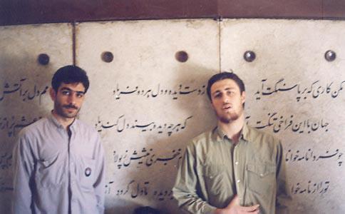 ژست هنری و جالب سید حسن خمینی/عکس