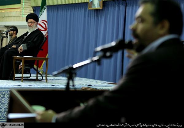 توصیه رهبر انقلاب به هیات حاج محمود کریمی