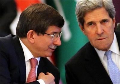 واکنش داوُد اوغلو به بیانیه ایالات متحده علیه سرکوب ها در ترکیه