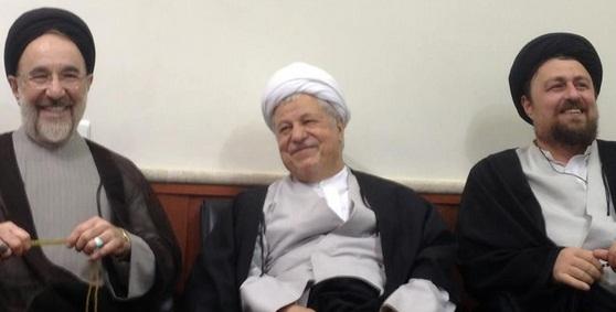 هاشمی رفسنجانی و محمد خاتمی فامیل شدند!