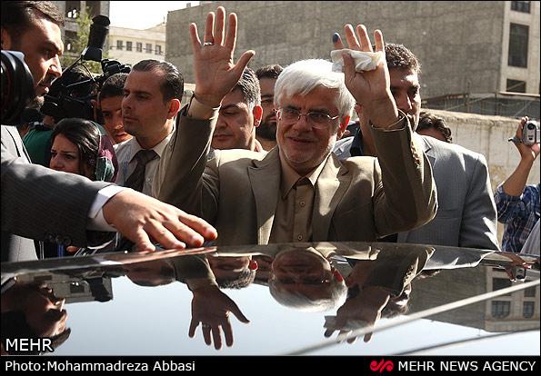 محمدرضا عارف و همسرش هم رای دادند/تصاویر