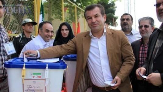 حمید استیلی هم در انتخابات شرکت کرد + عکس