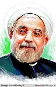 نقاشی پرتره نامزدهای ریاست جمهوری/عکس