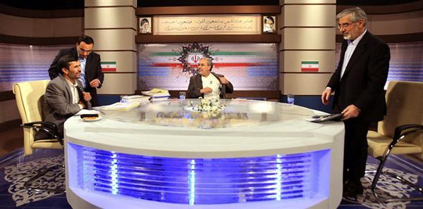دانلود مناظره احمدی نژاد و میرحسین موسوی در سال 88/بدون سانسور