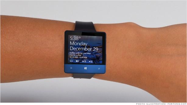 ساعت هوشمند مایکروسافت برای کارمندانش + عکس