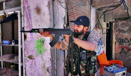 صحبت های حمید علیمی پس از حضور در مناطق جنگی سوریه+عکس