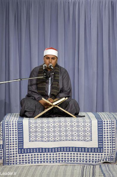 شوخی قاری بین المللی قرآن با رهبر انقلاب