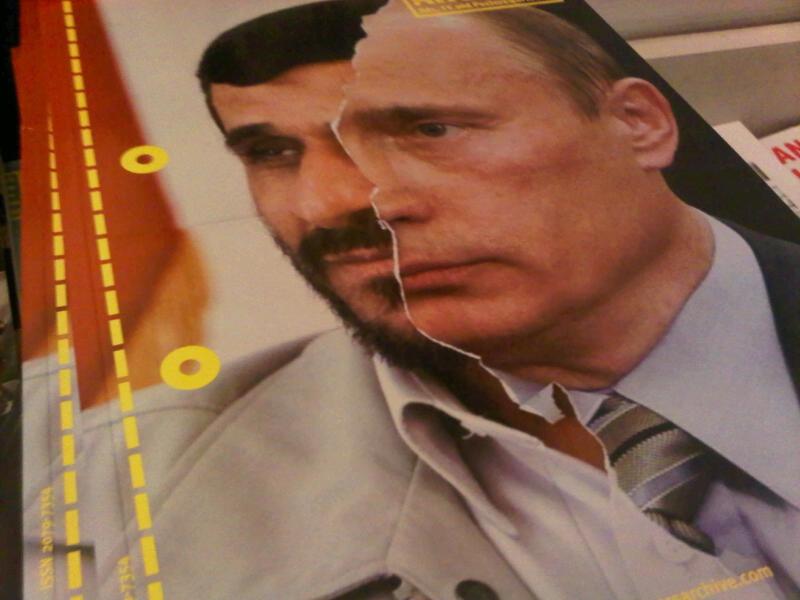 پاسخ جالب احمدی نژاد به سوال خبرنگار روسی درباره رد صلاحیت مشایی