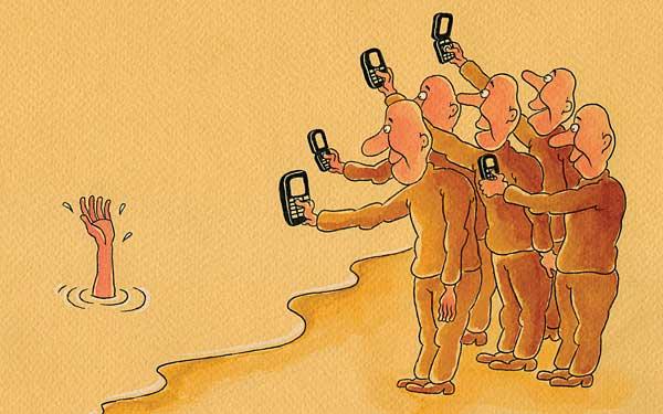 واقعیتی تلخ این روزهای ما/کاریکاتور