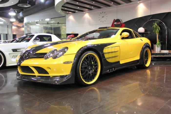فروش خودروی نایاب مرسدس بنز در دوبی + تصاویر
