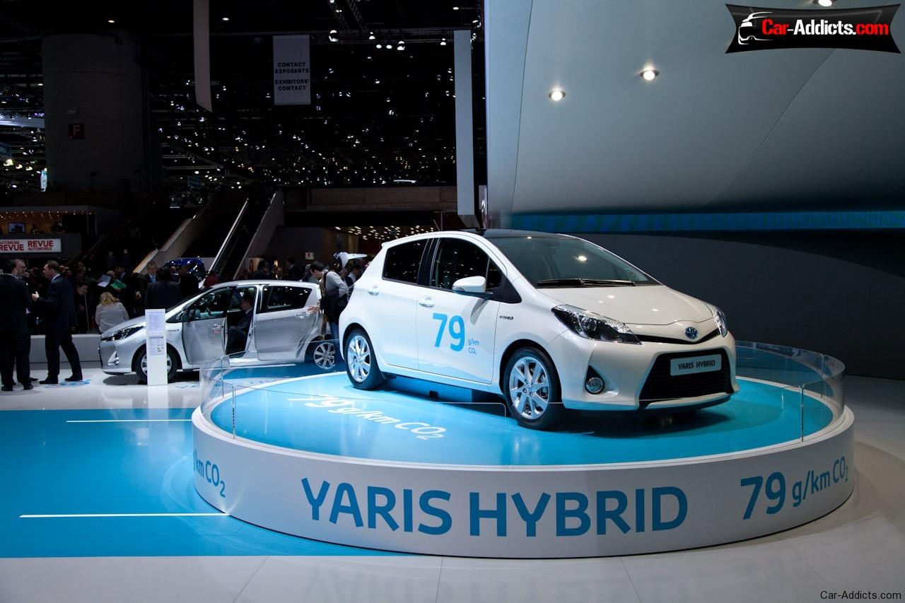 عکس/اولین تصویر منتشر شده از خودروی بی نظیر تویوتا یاریس Hybrid-R