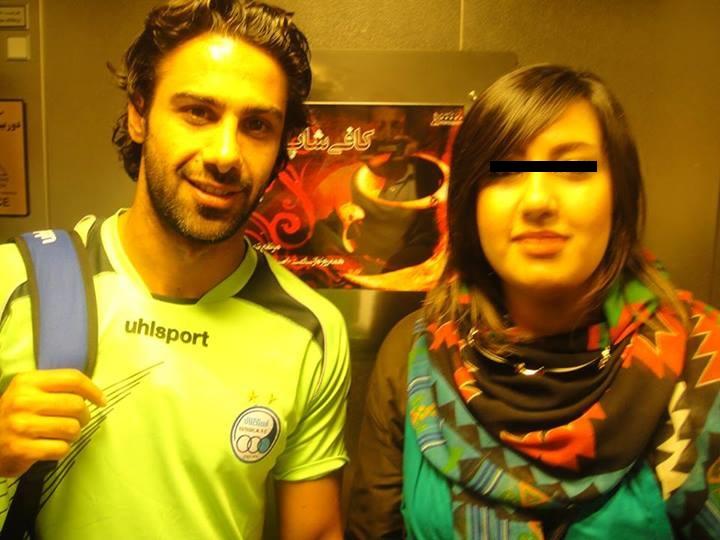 فرهاد مجیدی در کنار دختر بی حجاب + عکس
