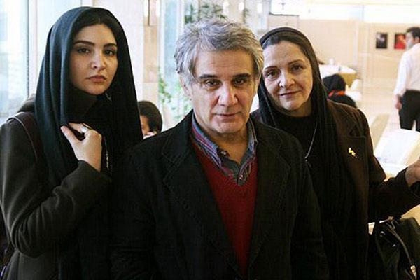 مهدی هاشمی در کنار دختر و همسرش + عکس