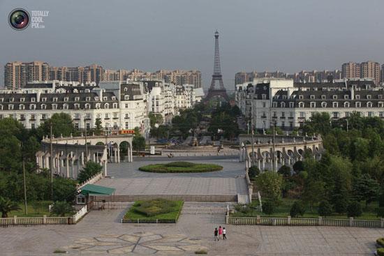 چینی ها عین شهر پاریس را کپی زدند+ عکس و فیلم