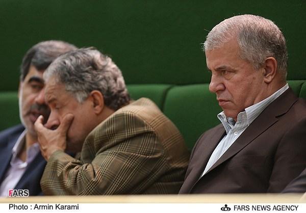 علی پروین در مراسم تحلیف دکتر روحانی + عکس