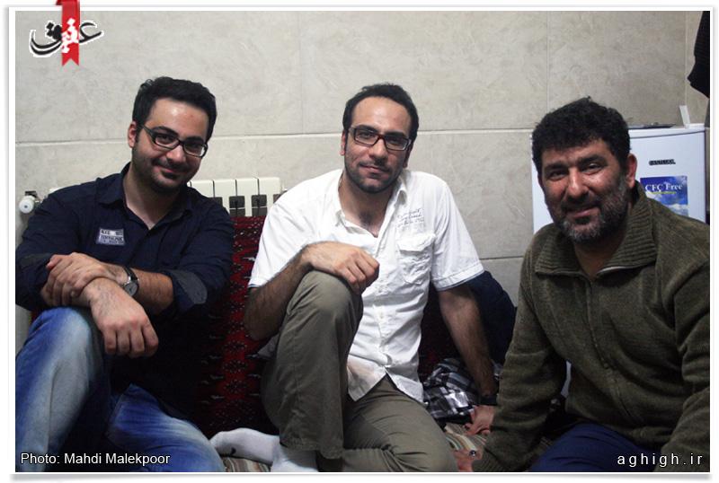 بازیگران معروف در خانه سعید حدادیان/تصاویر