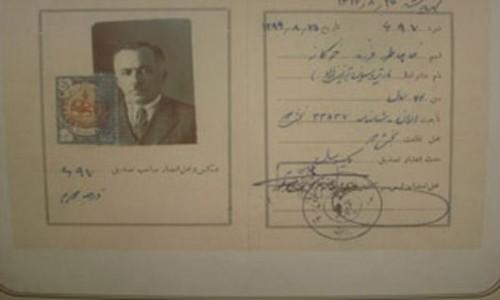 اولین فردی که در ایران گواهینامه رانندگی گرفت+عکس