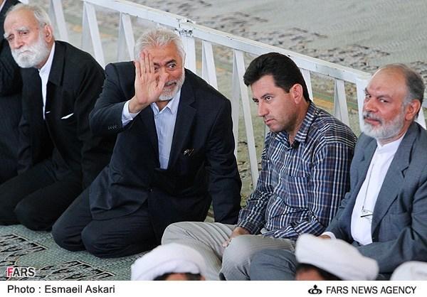 محمد غرضی در نماز جمعه تهران