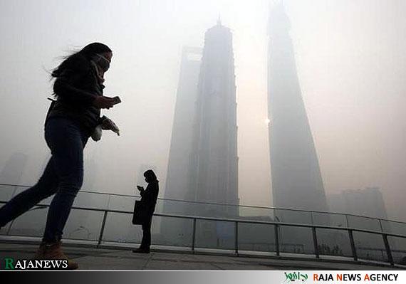 تصاویر | آلودگی هوا در چین
