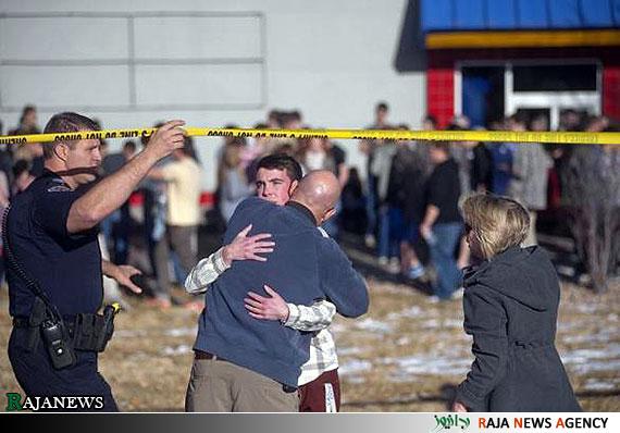 عکس: تیر اندازی در مدرسه ای در کلورادو آمریکا