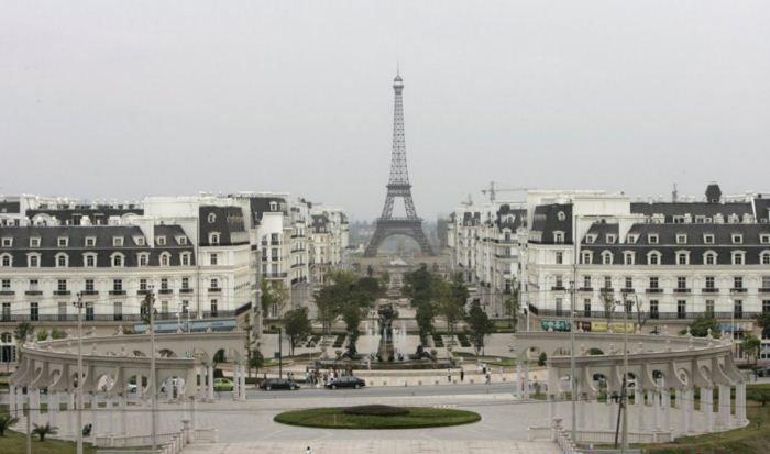 چینیها پاریس را هم کپی کردند/عکس