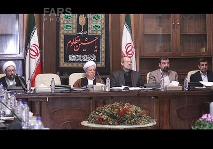 عکس | احمدی نژاد و هاشمی در مجمع تشخیص مصلحت نظام