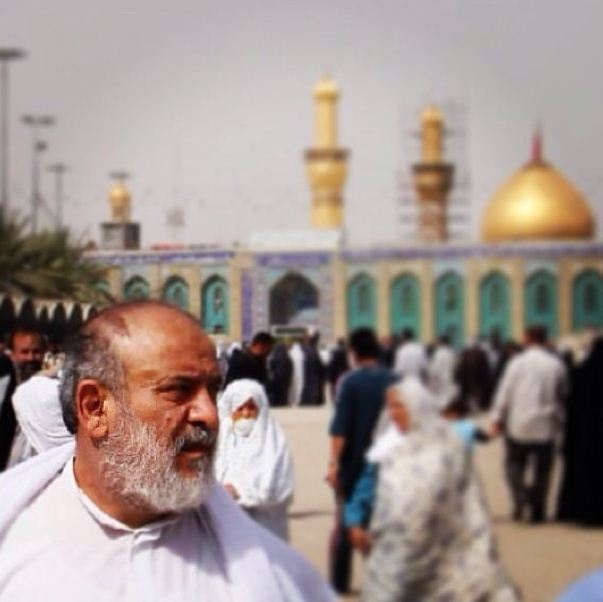 عکس | شیخ حسین انصاریان در بین الحرمین