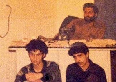 عکس خیلی قدیمی از مهران مدیری