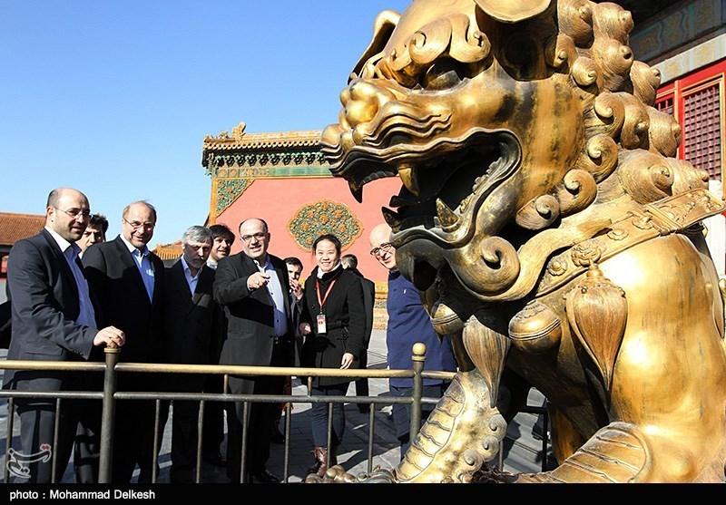 تصاویر|بازدید قالیباف از شهر ممنوعه چین