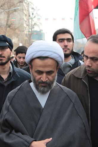 عکس|استاد علی رضا پناهیان در راهپیمایی
