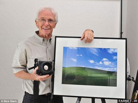 عکس|عکاس پسزمینه معروف ویندوز XP