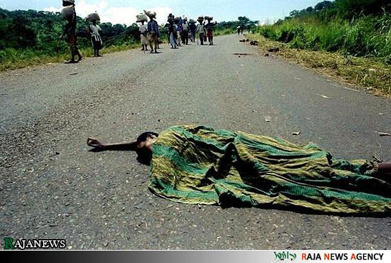 تصاویر دردناک از نسل کشی رواندا ــ 1994