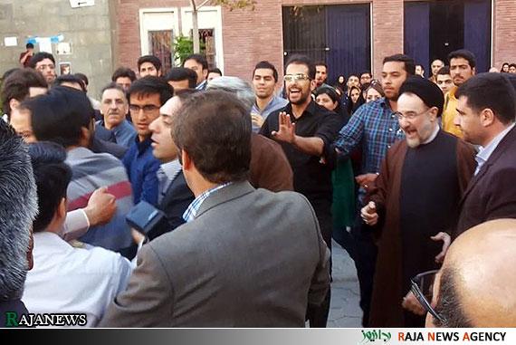 حواشی حضور سید محمد خاتمی در دانشگاه بهشتی+عکس