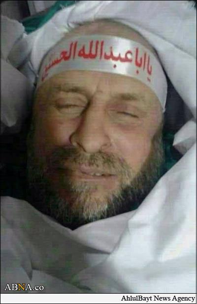 شهادت رزمنده ی که به حضرت عیسی احترام نظامی گذاشت+تصاویر